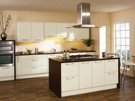 Duleek high gloss hornschurch ivory kitchen