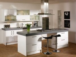 Duleek high gloss white kitchen