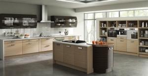 Duleek troscan oak high gloss ebony kitchen