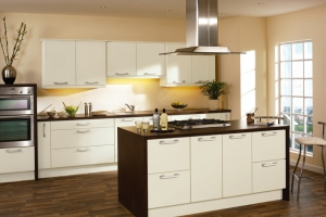 Duleek high gloss hornschurch ivory kitchen
