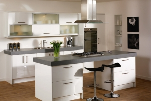 Duleek high gloss white kitchen