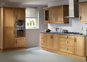 Rutland oak shaker kitchen