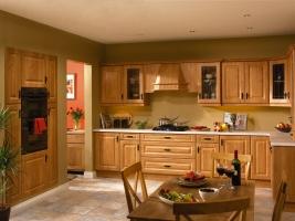 Calcutta pippy oak kitchen
