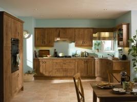 Melbourne lancelot oak kitchen