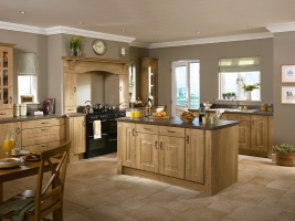 Rosapenna winchester oak kitchen