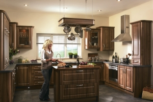 Paris medium walnut kitchen