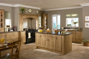 Rosapenna winchester oak kitchen