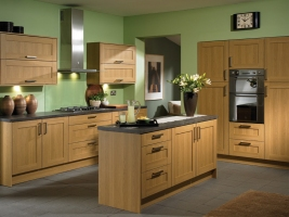 Tuscany lissa oak kitchen