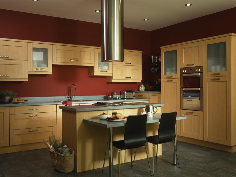 Tuscany beech kitchen
