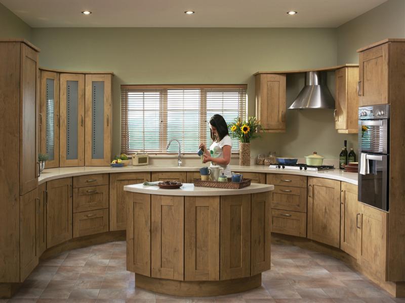 Tuscany natura oak kitchen