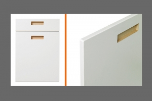 Letterbox kitchen door style