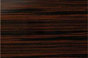 Fusion macassar ebony high gloss woodgrain