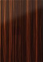 Goscote zebrano high gloss woodgrain