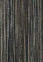 PVC edged textured woodgrain grey beige zebrano