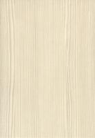 PVC edged textured woodgrain white avola