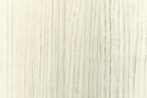 PVC edged textured woodgrain hacienda white