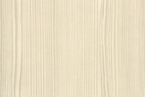 PVC edged textured woodgrain white avola