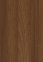 PVC edged woodgrain natural aida walnut