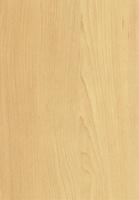 PVC edged woodgrain natural canadian maple