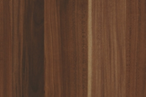 PVC edged woodgrain autumn plum