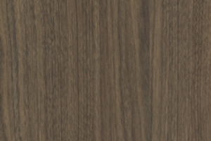 PVC edged woodgrain grey brown ontario walnut