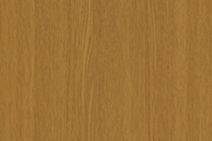 PVC edged woodgrain light calais oak