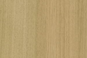 PVC edged woodgrain light ferrara oak