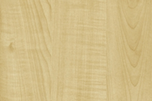 PVC edged woodgrain maple