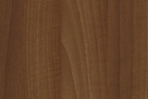 PVC edged woodgrain natural aida walnut