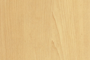 PVC edged woodgrain natural canadian maple