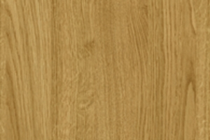 PVC edged woodgrain natural lancaster oak
