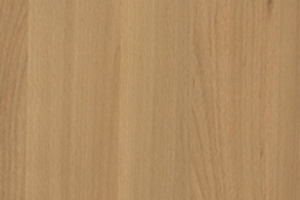 PVC edged woodgrain natural tauern beech