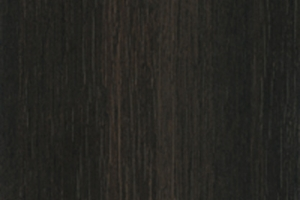 PVC edged woodgrain red brown highland oak