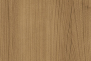 PVC edged woodgrain romana cherry