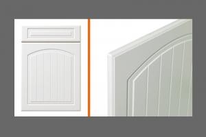 Farmhouse Arch kitchen door style