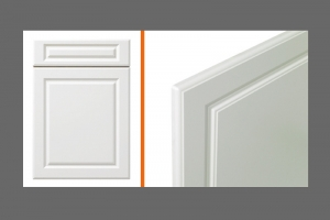 Square kitchen door style